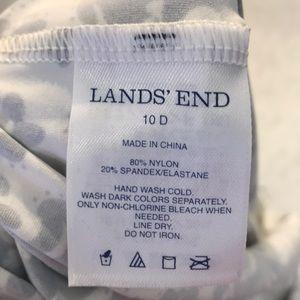 Lands' End Swim - EUC Lands End Tankini top